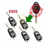 (5 PACK) BMW REMOTE FLIP KEY EWS 2 TRACK (CHIP 44) SPECIAL PRICE