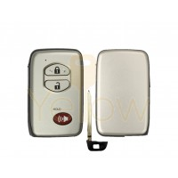 REPLACEMENT 3 BUTTON REMOTE SHELL FOR TOYOTA SMART KEY HYQ14AAB, HYQ14AEM, HYQ14ACX