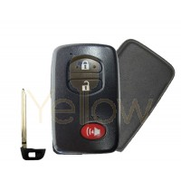 REPLACEMENT 2009-2019 SMART KEY 3 BUTTON PN 89904-47230