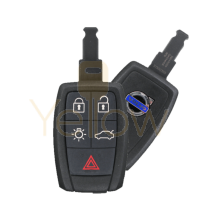 2007-2013 VOLVO C30 / C70 / S40 / V50 - 5 BUTTON KEYLESS ENTRY REMOTE (WITHOUT SMART ENTRY) - PN 31300258