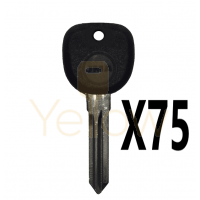 (75 PIECES) JMA B111 PT TRANSPONDER KEY GM