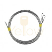 8' HIGH SPRING DOOR EXTENSION CABLE