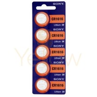 SONY CR1616 BATTERY 5-PACK