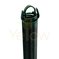 8' HIGH DOOR (27-48) CLIPPED STOCK EXTENSION SPRING (PULLS 220 LBS)