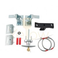 SPRING LATCH SET WITH CABLE