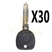 (30 PACK) B111 PT TRANSPONDER KEY GM