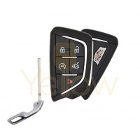 2020 CADILLAC CT4 / CT5 5 BUTTON SMART KEY - TRUNK , REMOTE START - PN 13536990  / 13538860