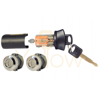 STRATTEC 7012802 FORD IGNITION AND DOOR LOCK SET CODED