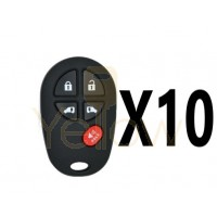 (10 PACK) XHORSE TOYOTA STYLE - 5B UNIVERSAL REMOTE FOR VVDI KEY TOOL (WIRED)