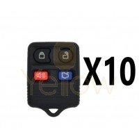 (10 PACK) XHORSE FORD STYLE - 4B UNIVERSAL REMOTE FOR VVDI KEY TOOL (WIRED)