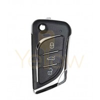 XHORSE  LEXUS KNIFE STYLE - 3B UNIVERSAL REMOTE FLIP KEY FOR VVDI KEY TOOL (WIRED)