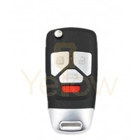 XHORSE AUDI STYLE - 4B UNIVERSAL REMOTE FLIP KEY (WIRELESS)