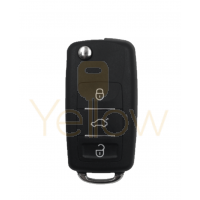XHORSE VOLKSWAGEN STYLE - 3B WATERPROOF UNIVERSAL REMOTE FLIP KEY FOR VVDI KEY TOOL (WIRED)