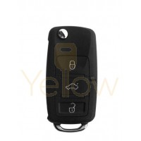 XHORSE VOLKSWAGEN STYLE - 3B UNIVERSAL REMOTE FLIP KEY FOR VVDI KEY TOOL (WIRED)