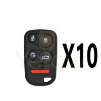(10 PACK) XHORSE HONDA STYLE - 5B UNIVERSAL REMOTE FOR VVDI KEY TOOL (WIRED)