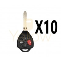 (10 PACK) XHORSE TOYOTA STYLE - 4B UNIVERSAL REMOTE FOR VVDI KEY TOOL (WIRED)