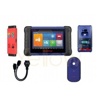 AUTEL MAXIIM IM508 AUTO KEY PROGRAMMER AND DIAGNOSTIC TOOL- PLUS FREE 12+8 CHRYSLER CABLE, G-BOX, & XP400BMC (MB / BMW BUNDLE)