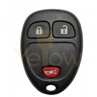 GM 3 BUTTON KEYLESS ENTRY REMOTE