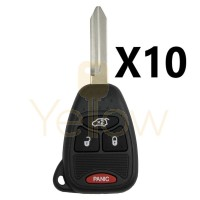 (10 PACK) CHRYSLER DODGE JEEP REMOTE HEAD KEY SPECIAL PRICE