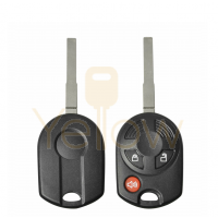 DURASHELL FORD 3 BUTTON REMOTE HEAD KEY SHELL