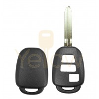 DURASHELL TOYOTA / SCION 3 BUTTON REMOTE HEAD KEY SHELL