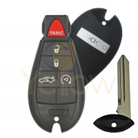 DODGE KEYLESS ENTER-N-GO PROXIMITY FOBIK KEY 2008-2014 DODGE CHARGER CHALLENGER 5B TRUNK / REMOTE START PN 56046694AH