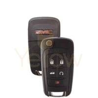 5 BUTTON GMC TERRAIN / ACADIA REMOTE FLIP KEY PN:5912548