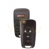 STRATTEC 5912547 4 BUTTON GMC REMOTE FLIP KEY