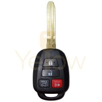 2013-2019 TOYOTA REMOTE HEAD KEY 4B HATCH (H CHIP)