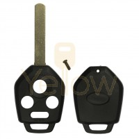 4 BUTTON REMOTE HIGH SECURITY KEY SHELL FOR SUBARU CWTWB1U811