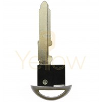UNCUT EMERGENCY KEY BLADE FOR MAZDA SMART KEY W/OUT CHIP