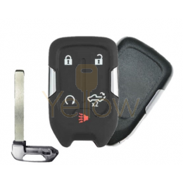 REPLACEMENT 2019-2021 CHEVROLET / GMC 5 BUTTON SMART KEY - TAILGATE , REMOTE START - PN 13508398