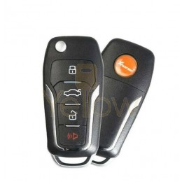 XHORSE VVDI SUPER REMOTE / FORD STYLE / 4 BUTTON UNIVERSAL KEY WITH SUPER CHIP