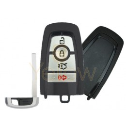 REPLACEMENT 2017-2021 FORD 1-WAY PEPS SMART KEY 4 BUTTON TRUNK PN 164-R8150