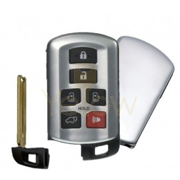 REPLACEMENT 2011-2020 TOYOTA SIENNA PROXIMITY SMART KEY 6 BUTTON PN 89904-08010