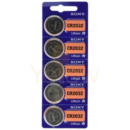 SONY CR2032 BATTERY 5-PACK