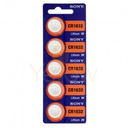SONY CR1632 BATTERY 5-PACK