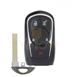 REPLACEMENT 2017-2020 BUICK 4 BUTTON SMART KEY HATCH - 13506665