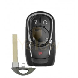 REPLACEMENT 2017-2018 BUICK 4 BUTTON SMART KEY REMOTE START - 13506665