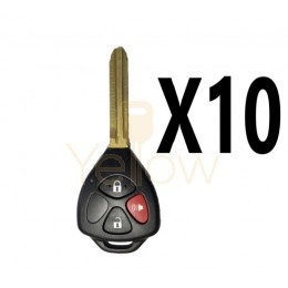 (10 PACK) XHORSE TOYOTA STYLE - 3B UNIVERSAL REMOTE FOR VVDI KEY TOOL (WIRED)